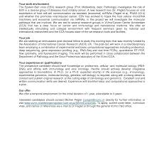 Cover Letter For Postdoc Position In Molecular Biology Lv