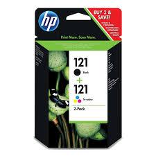 <b>Картридж</b> для струйного принтера <b>HP</b> 121 Black/Tri-color <b>CN637HE</b>