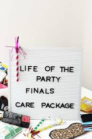 life of the party finals care package ideas 1