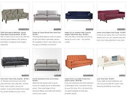 Small Picture This Month On Houzz 20 Beautiful and Affordable Sofas Layers of