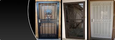 security storm doors with screens. Storm Doors Screen Security Wrought Iron Albuquerque With Regard To Ideas Screens