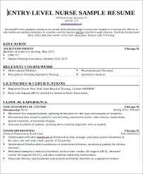 New Grad Rn Resume With No Experience New Grad Nursing Resume