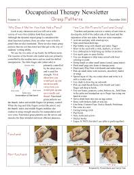 Grasp Patterns Cool Occupational Therapy Newsletter Grasp Patterns How Can We Promote
