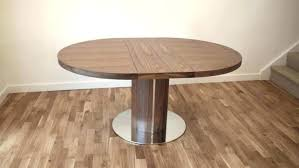round white extendable dining table legs large size of extendabl