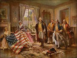 second continental congress voting for independence b ross the birth of old glory
