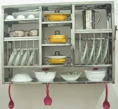 ... Plate Racks Dish Drying Shelf Dryer Display Rack Stainless Steel Wall  Hanging Singapore Full Size