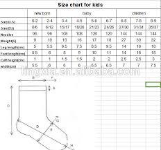 Kids Slipper Size Chart Unisex Gender And Oem Service Supply Type Knitted Kids Slipper Socks Custom Design Non Skid Slipper Socks For Kids Buy Non Skid Slipper Socks Socks