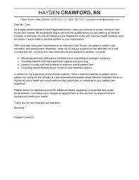Rn Cover Letter Examples Labor And Delivery Nurse Resume For Nursing