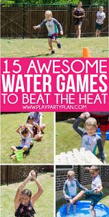 whether you re looking for outdoor water games for kids or easy games for summer