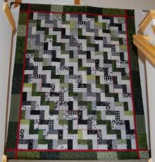 Quilting Designs For A Rail Fence Quilt Two Rail Fence Maryquilts Com