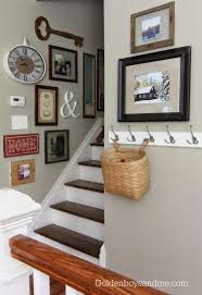 Wall Decorating The 25 Best Stairway Wall Decorating Ideas On Pinterest Stair