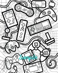 Coloring Pages Video Games Coloring Pages Video Games Video Game