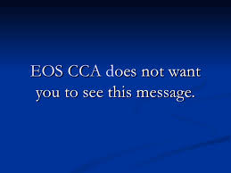 Eos Cca Stop Eos Cca Call 877 737 8617 For Legal Help