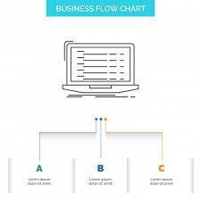 Api App Coding Developer Laptop Business Flow Chart Design W