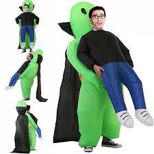 Unisex Inflatable Ghost <b>Costume Skeleton</b> Devil <b>Halloween Party</b> ...