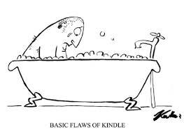 basic flaws of the kindle cartoon