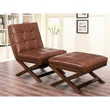 chair and ottoman. tribeca leather chair and ottoman n