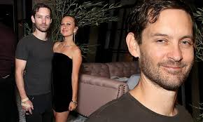 tobey maguire supports ex wife jennifer meyer at launch party for her new jewelry in la daily mail 30 days ago