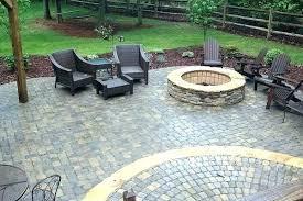 backyard patio pavers outdoor rubber