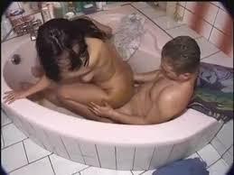 Girl shits in bathtub