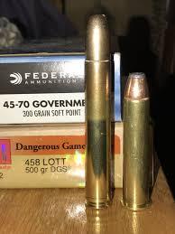 458 Lott Vs 45 70 Govt Hunting Guns Guns Cool Guns