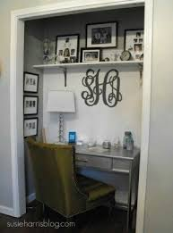 turn closet home office. Unused Closet Turned Into Office Or Vanity Area In Walk Turn Home