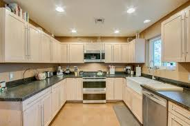 countertop paint colorsLight birch cabinets dark countertop  paint color help for kitchen