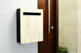 Mailbox Design Ideas Modern Mailbox Design Stone Mailbox Design