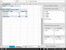 create pivot table from multiple worksheets worksheets for all and share worksheets free on bonlacfoods