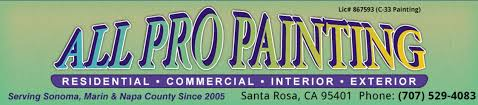 707 529 4083 all pro painting