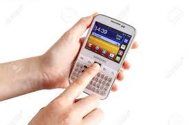 The Samsung Galaxy Y Pro B5510.. Stock ...