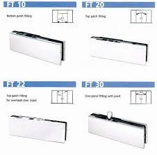 accessories for tempered glass door