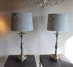 silver table lamp target top lamps touch black and crystal base for baffling silver table lamp