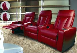 E Modern Theater Seating 3 Piece Cinema Chairs For Sale  Theatre Leather Sofa Recliner