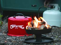 Little Red Fire Pit Review Camco 58031 Little Red Campfire Portable Propane Camp Fire Outdoor Fire Pits Fireplaces Grills