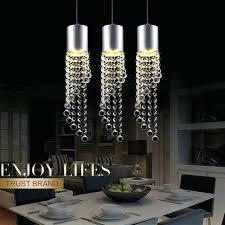 modern crystal pendant led lamp modern crystal pendant light kitchen dining room modern 10 light chrome