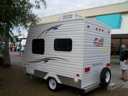 Small Car Camper Small Camping Trailers With Bathrooms Unacco