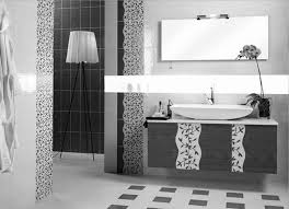 Black And White Tile Bathroom Decorating Ideas