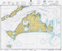 Historical Nautical Chart 13233 11 1983 Marthas Vineyard