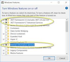 windows roles and features