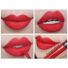 Sephora Cream Lip Stain 01 Always Red Best Red Evar Sephora