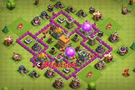 Clash Of Clans Th6 Base Design 12 Best Th6 Farming Defense Base Links 2020