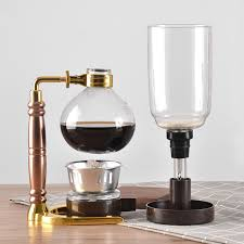 The vacuum coffee maker, also referred to as the siphon or syphon is a coffee making method that uses two pots and then adds water pressure and a vacuum to brew. Japanese Style Siphon 360ml Glass Coffee Maker Tea Siphon Pot Vacuum Coffee Maker Coffee Machine Filter Kahve Makinas Coffee Makers Aliexpress