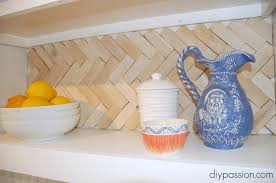 cheap kitchen backsplash ideas. Heringbone Shim Backsplash. Cheap Kitchen Backsplash Ideas S