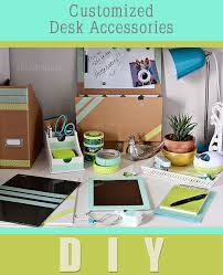 diy office desk accessories. IPad And Desk Accessories Within Personalized Design 16 Diy Office