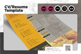 Design Haven Resume Cv Template With Portfolio A4 Portrait