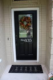 Brown Trim Paint Brown Doors White Trim After Tan Painted Brick With Black Door