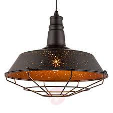 Celestina Hanglamp In Zwart En Koper