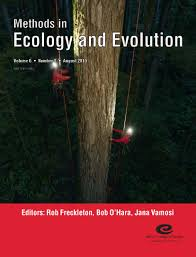 cover gallery methods in ecology and evolution issue 6 8