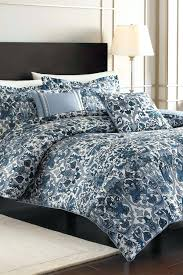 nicole miller quilt image of porcelain blue king comforter sham set queen